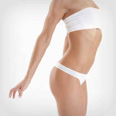 Body lift procedures to smoothen and flatten out body curves